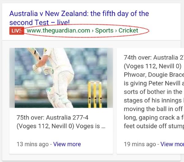 چگونه در صفحات نتایج جستجوی گوگل بدرخشید 3