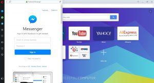 مرورگر اپرا امکان دسترسی به تلگرام و واتساپ را به سایدبار خود اضافه کرد