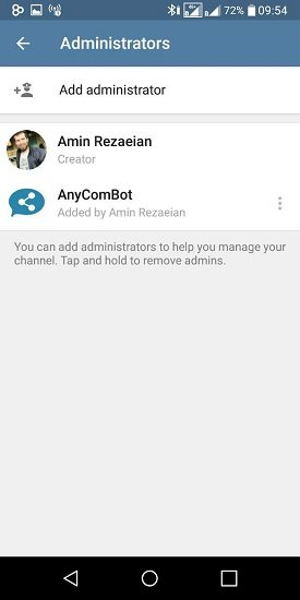چگونه امکان نظر دادن در کانال تلگرام مان را فعال کنیم؟ 4