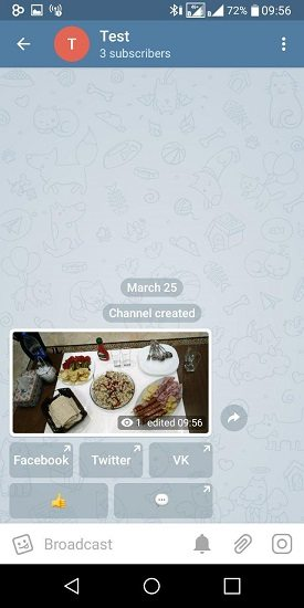 چگونه امکان نظر دادن در کانال تلگرام مان را فعال کنیم؟ 5