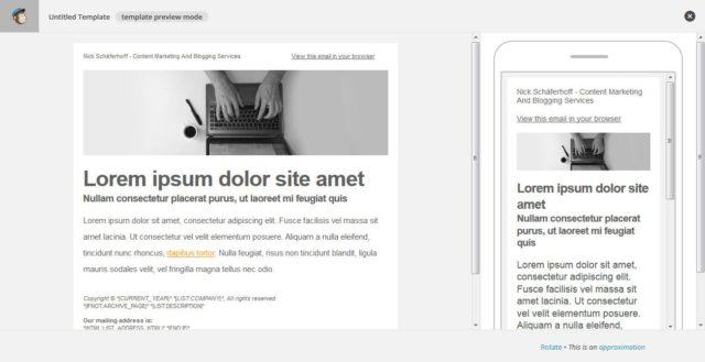 آموزش نحوه راه اندازی کمپین ایمیلی با Mailchimp 10